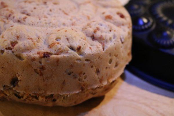 Rezept-Brot-backen-mit-Schinken-und-Käse-1