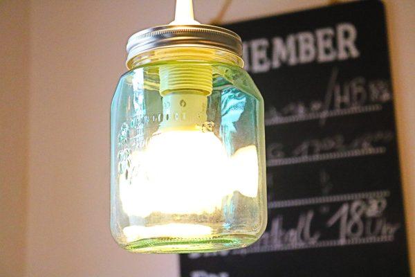 Diy Upcycling Wir Basteln Eine Lampe Aus Bunten Einmachglasern Diy